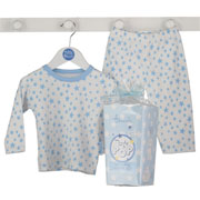 Ready to Pop Baby Blue Pyjamas Gift Box