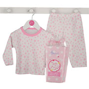 Ready to Pop Baby Pink Pyjamas Gift Box