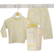 Ready to Pop Baby Yellow Pyjamas Gift Box