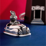 Bunnies Day Out Pewter Dodgem Tooth Box by Royal Selangor