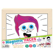 Fiesta Crafts Magnetic Faces Activity Box