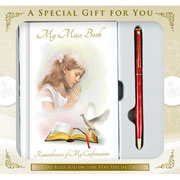 Girls Confirmation Book and Pen Gift Set