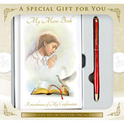 Boys Confirmation Book and Pen Gift Set