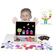 Magnetic Shapes Activity Box by Fiesta Crafts