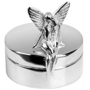 Silver Plated Fairy Tooth Box