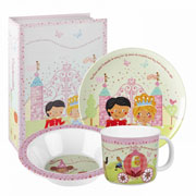 Cinderella 3 Piece Melamine Breakfast Set