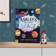 Personalised Childrens Space Book