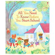 Usborne All You Need to Know Before You Start School Book