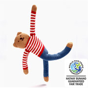Fair Trade Teddy Freddie Flipp Blue Trousers by Pebble
