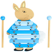 Orange Tree Toys Peter Rabbit Wooden Xylophone