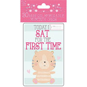 Baby Girl Memorable Moments Cards