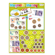 Magnetic Money Play and Learn Board by Fiesta Crafts