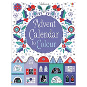Childrens Advent Fold Out Calendar to Colour