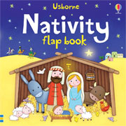 Nativity Flap Board Book by Usborne Books