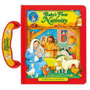 Babys First Nativity Hardback Carry Along Book