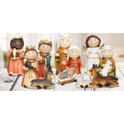 Resin 11 Figure Nativity Set