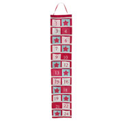 Large Felt Hanging Fabric Advent Calendar With Pockets