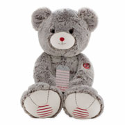 Kaloo Rouge Extra Large Cocoa Brown Prestige Teddy Bear