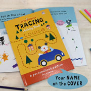 Personalised Arty Mouse Tracing Activity Book