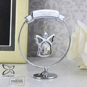 Personalised Crystocraft Angel Memorial Keepsake Ornament