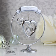 Personalised Crystocraft Heart Memorial Ornament