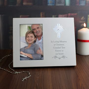 Personalised Cross Sentiments 4 x 6 Inch Light Up Frame
