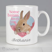 Rachael Hale Some Bunny Personalised Mug Easter Gift