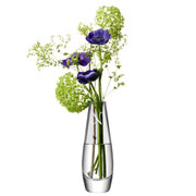 Personalised Single Stem Vase by LSA International Glasswear