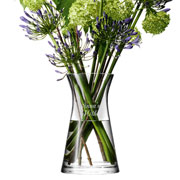 Personalised Mixed Bouquet Vase by LSA International