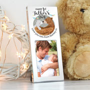 Personalised 1st Fathers Day Daddy Bear 2x3 Inch Photo Frame