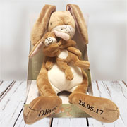 Personalised Guess How Much I Love You Musical Lullaby Hare