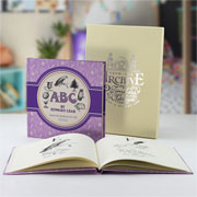 Personalised Edward Lear ABC Alphabet Poems With Gift Box