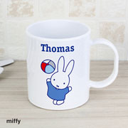 Personalised Miffy Playful Plastic Mug