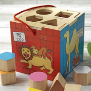 Personalised Dear Zoo Wooden Shape Sorter