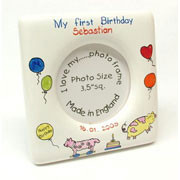 Personalised Bone China My First Birthday Frame