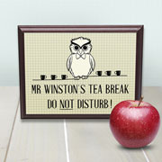 Personalised Teacher's Do Not Disturb Sign
