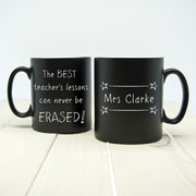 Teacher's Lessons Can Never Be Erased Personalised Matte Mug