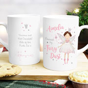 Personalised Fairy Princess Slim Mug