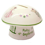 Personalised Fairy Money Box