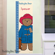 Personalised Paddington Bear Height Chart
