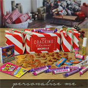 Personalised Giant Sweet Filled Christmas Cracker