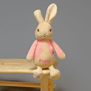 Personalised My 1st Flopsy Rabbit Soft Toy