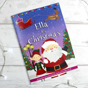 Personalised Girl's It's Christmas Story Book Gift