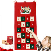 Personalised Christmas Elf Felt Advent Calendar