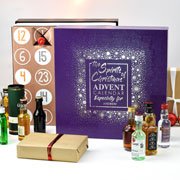Personalised Spirits of Christmas Advent Calendar Box