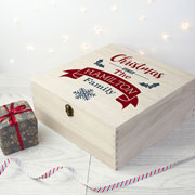 Personalised Family Christmas Eve Box