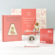 Tailor of Gloucester Royal Mint Silver 50p Coin & Book Set