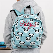 Personalised Childs Panda Backpack