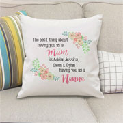 The Best Thing Personalised Cushion Cover
