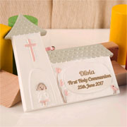 Girls Personalised First Holy Communion Church Ornament